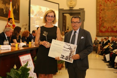 Premio Fantasia 2018 a Francesca Medolago Albani - MediCinema Italia